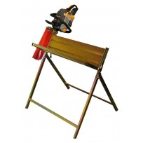 Rocwood Safety Log Horse with Chainsaw Holder