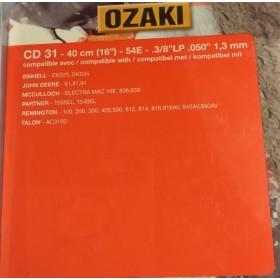 "Ozaki CD31 Chainsaw Chain - 16"" (40cm) .050 3/8"" 54 Link"