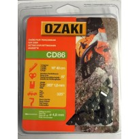 "Ozaki CD86 Chainsaw Chain - 16"" (40cm) .063 325"" 67 Link"
