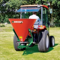 Wessex Mounted Salt Spreader - 360 ltr